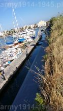 33. Kamienne mury zapobiegające dobiciu okrętów bezpośrednio do murów obronnych zamieniono obecnie na przystań dla luksusowych jachtów.
