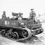 Uniwersal Carrier, który zdobył tak duże uznanie dowództwa włoskiego, że chcieli mieć podobny pojazd.
