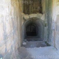 """36 wejście do działobitni umieszczonych we wnętrzu bastei """"Del Carretto Bastion"""" (obecnie zupełnie puste)."""