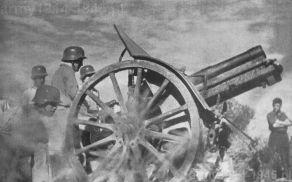 Po zakończeniu wojny domowej haubica 100/14 pozostała w służbie armii hiszpańskiej.