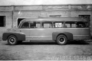 3Ro BARBI skarosowany jako autobus w 1939 r.