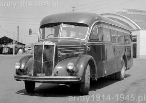 3Ro Macchi skarosowany jako autobus w roku 1939.