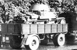 Przyczepy transportowe Viberti, podobnie jak samochody ciężarowe Lancia 3Ro doskonale sprawdziły się podczas wojny.