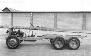 Podwozie samochodu ciężarowego Fiat 611 C