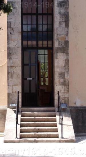 Drzwi wejściowe do kościóła św. Jana (Isola Coo)