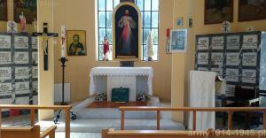 Wnętrze kościoła św. Jana. (Isola Coo)