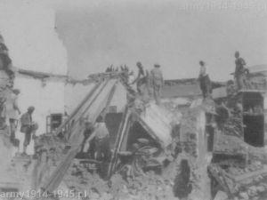 Akcja ratownicza po niszczycielskim trzęsieniu ziemi 23 kwietnia 1933 r.