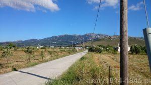 Widok z Ciflicà w kierunku wysokiego łańcuchu górskiego, gdzie znajduje się wioska widokowa Zia. (Isola Coo)