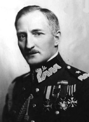 Gen. bryg.Józef Konstanty Olszyna-Wilczyński (ur. 27 listopada 1890 w Krakowie, zamordowany przez Rosjan 22 września 1939 pod Sopoćkiniami) [Wikipedia]
