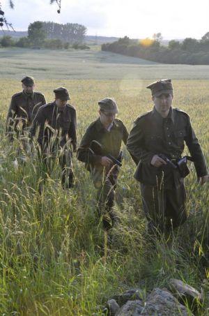 Żołnierze 5 Wileńskiej Brygady AK na Pomorzu 1946r