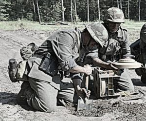 Minowanie drogi - Rosja 1944