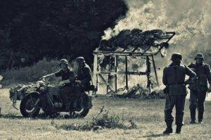 Akcja odwetowa po ataku partyzanckim