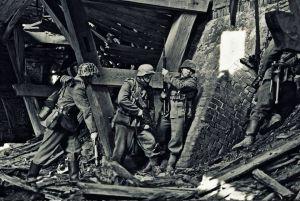 1944 - Front wschodni, walki o cegielnię
