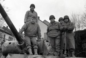 Pantera z niemieckiej 116. Dywizji Pancernej, która 19 grudnia 1944r. zaatakowała miasteczko Houffalize.