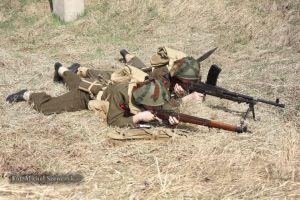 Bren crew. 3. Dywizji Piechoty. Normandia 1944.