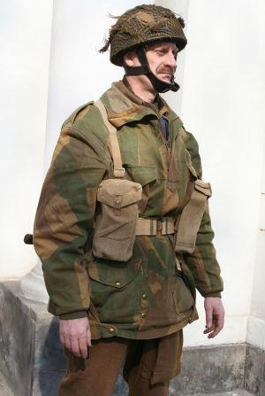 3. Żołnierz 1 Samodzielnej Brygady Spadochronowej, wrzesień 1944 r.