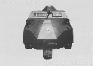 "Samochód pancerny Autoblinda ""Vespa"" Caproni"