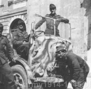 SPA CL 39 w rękach niemieckich.