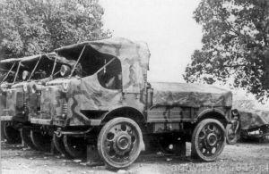 Autokarette OM 32 i OM 35 włoskiego korpusu ekspedycyjnego CTV w Hiszpanii