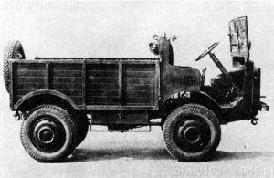 Autocarretta modello 36Mt