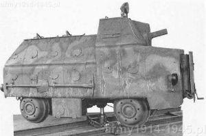 Autocarretta ferroviaria blindata Mod. 42 (drezyna pancerna)