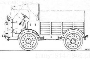 Autocarretta OM 35