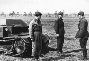 Szkolenie załóg T-27.