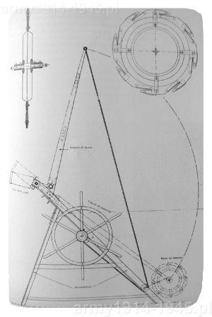 Schemat konstrukcji Cantono Lanciaruote