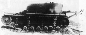Pierwszy prototyp tankietki T-23 z roku 1930.