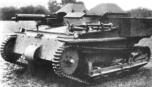 Pierwowzór rosyjskich tankietek, czyli Carden-Loyd Mk.VI