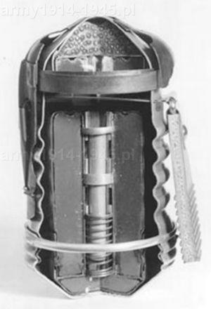 Przekrój granatu Breda Mod.35