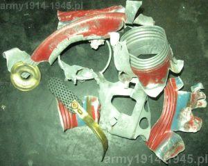 To co zostało po wybuchu granatu ćwiczebnego o obniżonym ładunku wybuchowym SRCM Mod.35.