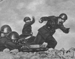 Żołnierze włoscy w Rosji.