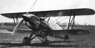 Samolot myśliwski Avia B-534 z czwartej serii produkcyjnej, który rozwijał prędkość 405 km/h