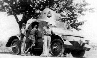 Samochód pancerny OA vz.27