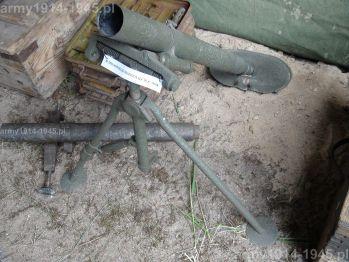 8. Sowiecki granatnik 50 mm wz.38