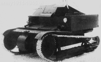 Jeden  prototypów T-27