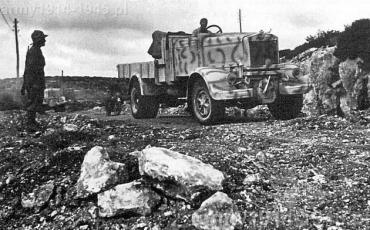Drogi wschodniej Libii (Cyrenajki) w listopadzie 1941 r.