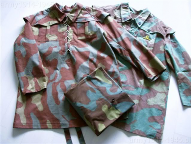 Stosowane ubiory maskujące Decima Flottiglia MAS