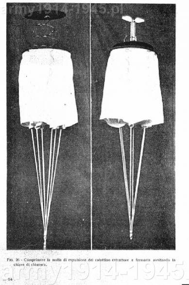 Pod elementami o których pisaliśmy wcześniej ułatwiającymi pakowanie spadochronu znajdował się spadochron wyciągający wspomagający rozłożenie się głównej czaszy spadochronu.
