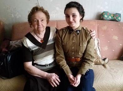 16. członkini OGRH PWK z panią Haliną, pewiaczką