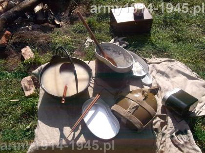 Tak wyglądał posiłek japońskiego wojownika...
