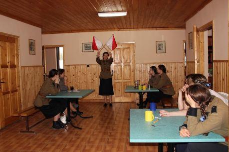 8. zjazd wiosenny w Istebnej, jedne z wielu zajęć, sygnalizacja