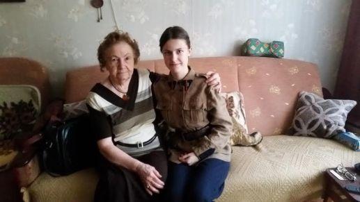 17. członkini OGRH PWK z panią Haliną, pewiaczką