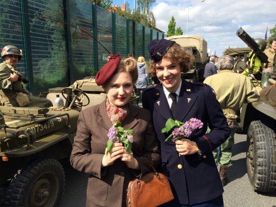 Liberation Festival w Pilznie (Czechy) upamiętniający wyzwolenie miasta przez Amerykanów w maju 1945r.