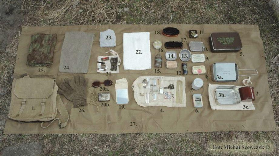 Bren crew. Sylwetki żołnierzy brytyjskiej 3. Dywizji Piechoty. Zdjęcia: Michał Szewczyk