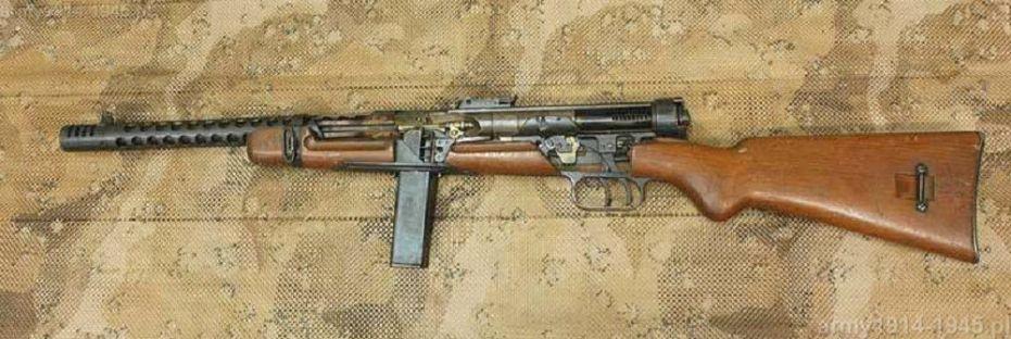 MAB 38A w przekroju (źródło: Second World War)